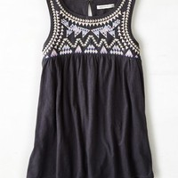 AEO Women's Embroidered Swing Tank