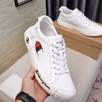 champion  Men popular Boots popularable Casual leather Breathable Sneakers Running Shoes
