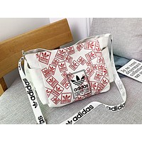 ADIDAS x NIKE fashion canvas print shoulder bag hot seller for women's casual shopping bag #4