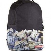 Money Rolled Backpack   Sprayground Backpacks, Bags, and Accessories