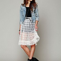 Intimately  Lace Connections Skirt at Free People Clothing Boutique