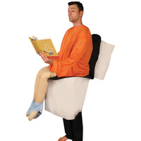 Morphsuits Toilet Man Costume