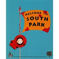 South Park - Welcome to South Park Decal