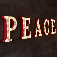 Marquee Word - Peace