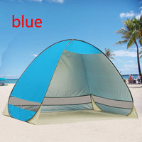 High Quality UV Protection Quick Automatic Opening Beach Tent Protable Ultraviolet-proof Beach Shade Tents Fishing
