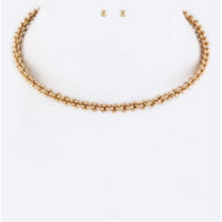 "Twisted Choker - As seen in ""First for Women"" Magazine"