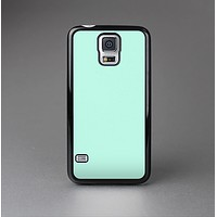 The Subtle Solid Green Skin-Sert Case for the Samsung Galaxy S5
