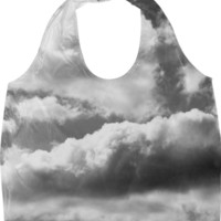 In The Clouds Eco Bag created by PoseManikin | Print All Over Me