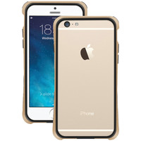 """Macally Iphone 6 4.7"""" Flexible Frame Case (metallic Champagne)"""