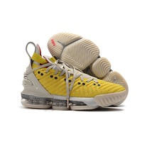 """Nike LeBron 16 HFR """"Bright Citron"""" Basketball Shoes - Best Deal Online"""