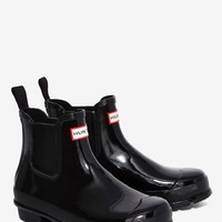 Hunter Original Chelsea Patent Rain Boot
