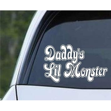 Suicide Squad Daddy's Lil Monster Harley Quinn Die Cut Vinyl Decal Sticker