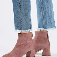 MAGGIE Suede Ankle Boots - New In This Week - New In