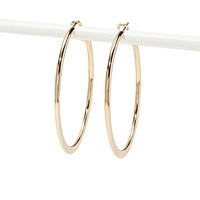 Plated Hoop Earrings