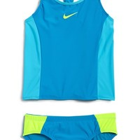 Girl's Nike 'Color Fuse' Tankini Two-Piece Swimsuit