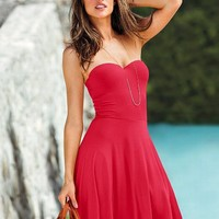 The Push-up Strapless Dress