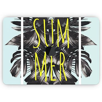 """Mint Summer Time - Skin Decal Wrap Kit Compatible with the Apple MacBook Pro, Pro with Touch Bar or Air (11"""", 12"""", 13"""", 15"""" & 16"""" - All Versions Available)"""