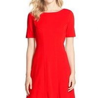 Women's KUT from the Kloth Woven Fit & Flare Dress,
