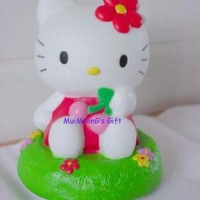 New Sanrio Cherry Hello Kitty 3D Body Touch Light 6.25""