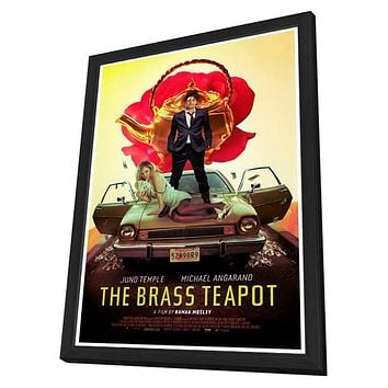 The Brass Teapot 11x17 Framed Movie Poster (2013)