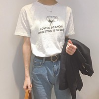 Love Is Short Tee