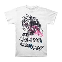 Cage The Elephant Men's  One Ear T-shirt White