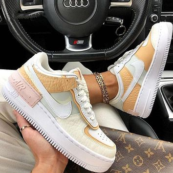 Nike NK Air Force 1 Hot New Women's Stitched Low-Top Sneakers