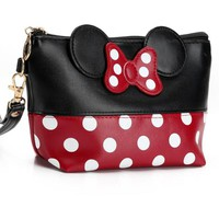 Minnie Mouse Cosmetic Purse