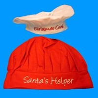 Christmas Cook Hats for the Holidays (Set of 2)