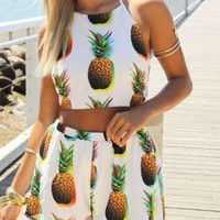 CUTE HOT TWO PIECE ROMPER