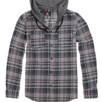 Quiksilver Long Sleeve Hooded Woven Shirt at PacSun.com