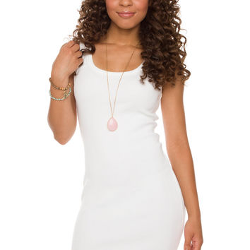 Hold The Line Dress - White