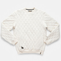 10Deep | Tops | X-Box Quilted Crew - Off White