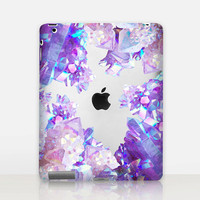 Crystals Transparent iPad Case For - iPad 2, iPad 3, iPad 4 - iPad Mini - iPad Air - iPad Mini 4 - iPad Pro