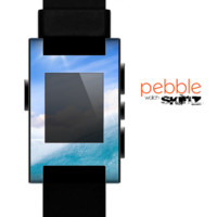 The Sunny Day Waves Skin for the Pebble SmartWatch