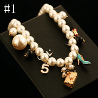 Fashionable temperament and personality go hand in hand with the pearl sweater chain long style necklace real gold female chain