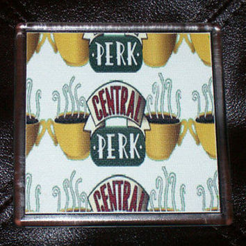 FRIENDS TV Show Central Perk coffee cup mug Coaster