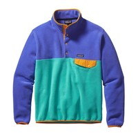 Patagonia Men's Lightweight Synchilla® Snap-T® Pullover | Howling Turquoise