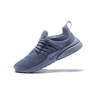 Nike Air Presto Trending Women Men Casual Sport Running Shoe Sneakers Grey I