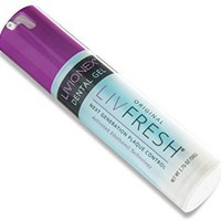 LIVFRESH Dental Gel- Cleans Plaque Better Than Toothpaste; Prevents Bad Breath; A Better Toothpaste Alternative From Livionex; Peppermint Flavor; Dispensed In a Pump