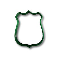 Police Badge Cookie Cutter