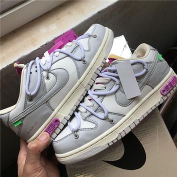 OW x Dunk Low¡°21 of 50¡± OW DM1602-100 36-46