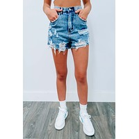 Church Street Shorts: Denim