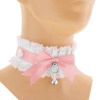 Kitten play collar, bdsm, DDLG, Petplay 3M
