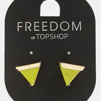 Topshop Triangle Earrings | Nordstrom