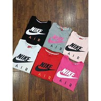 """""""Nike""""Hot letters print T-shirt top(6-Color) I-G-JGYF"""