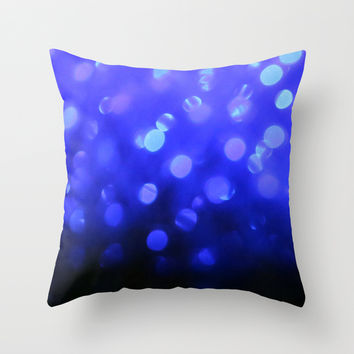 the other side of the moon Throw Pillow by Marianna Tankelevich