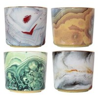 Mineral Goblet Candle : Biscuit Home