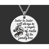 Sister to Sister Necklace
