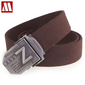 Thicken belts for men canvas belt Che Guevara military belt Army tactical belt men strap